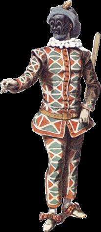 Harlequin Man